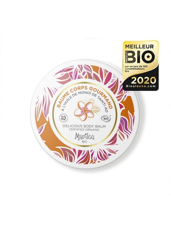 Βιολογικό balm σώματος με έλαιο Monoi Marilou Bio