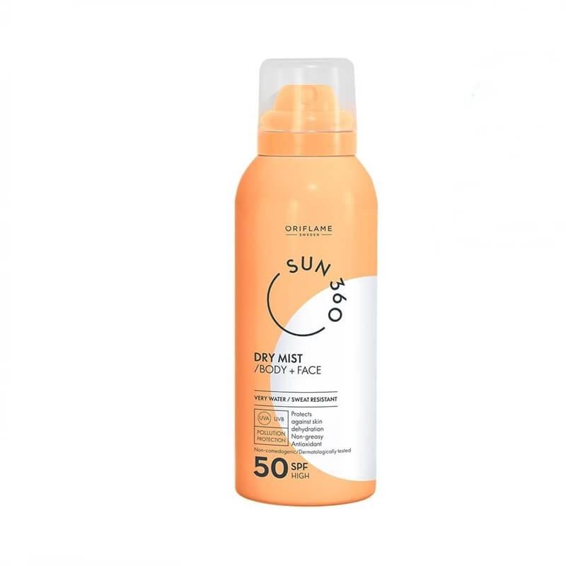 Dry Mist για το Πρόσωπο + το Σώμα με SPF 50 Sun 360