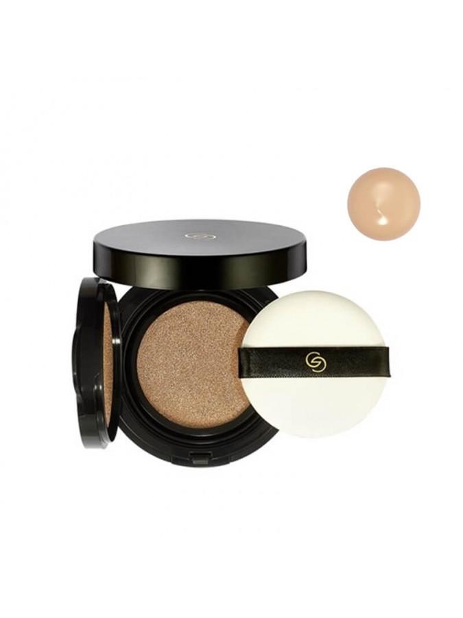 Make-up Κόμπακτ με Σφουγγαράκι Divine Touch Giordani Gold Light Ivory Warm