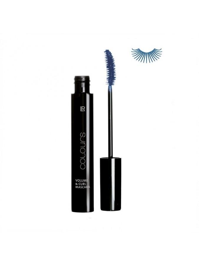 Colours Μascara Volume & Curl Night Blue