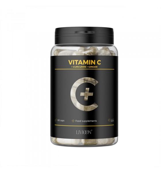 Βιταμίνη C από άγριο τριαντάφυλλο+ Κουρκουμά+ Τζίντζερ