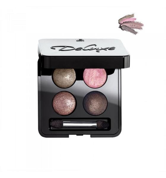 Deluxe Artistic Quattro Eyeshadow Τετραπλή Παλέτα με Σκιές Ματιών Delighted Nude