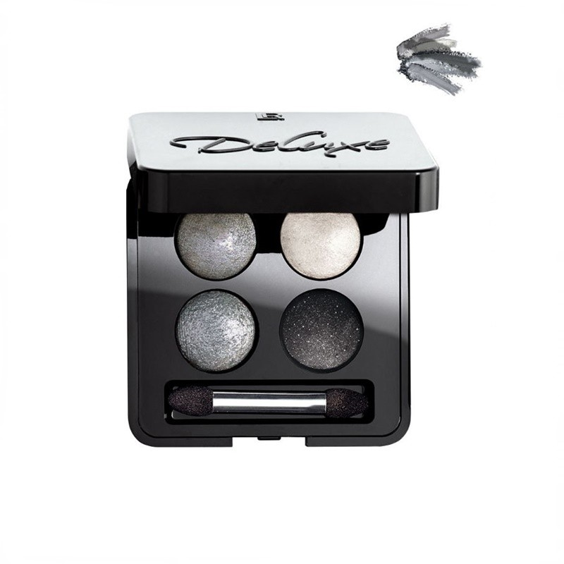 Deluxe Artistic Quattro Eyeshadow Τετραπλή Παλέτα με Σκιές Ματιών  Night Rock
