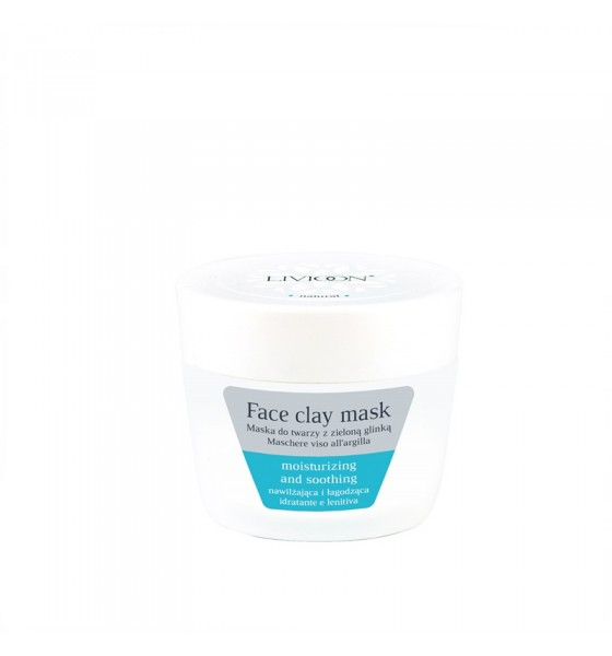 Natural Face mask with green clay
