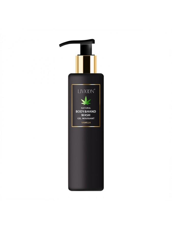 Body & Hand Wash Gel Moussant Vanilla