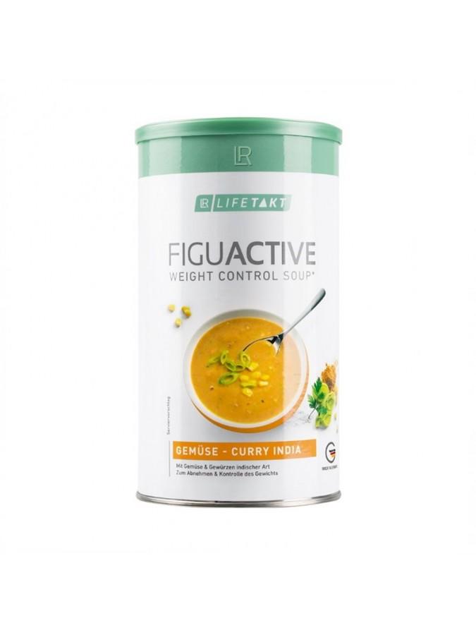 Figu Active Σούπα Λαχανικά Κάρυ India