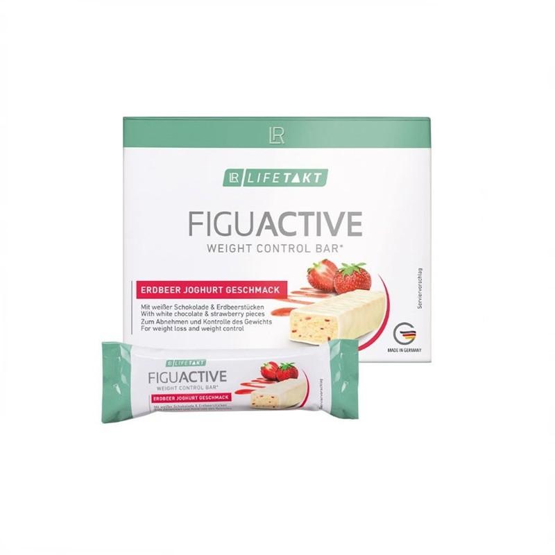 Figu Active Μπάρες Φράουλα  Γιαούρτι