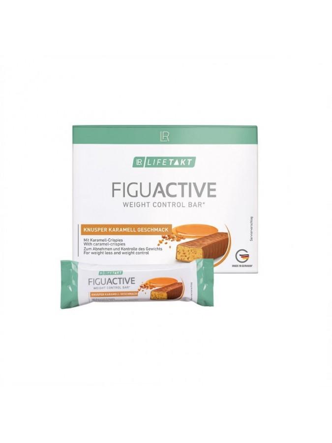 Figu Active Μπάρες Crunchy Caramel