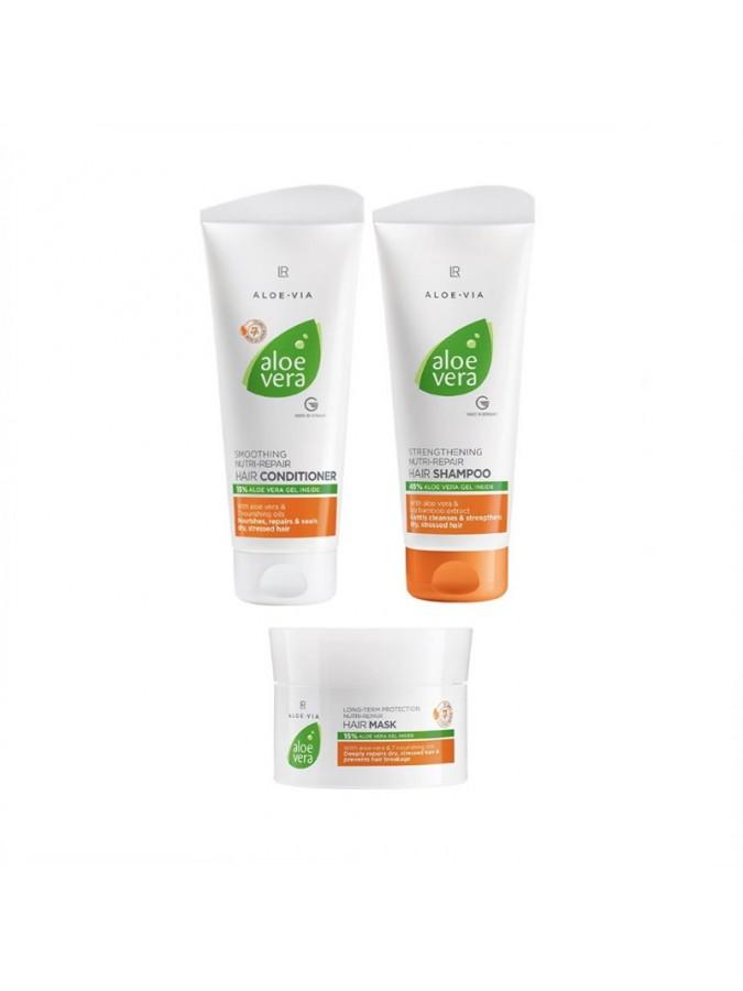 Aloe Vera Nutri- Repair Σετ Περιποίησης Μαλλιών