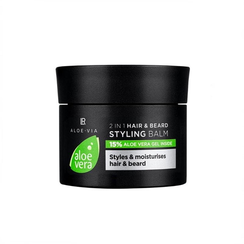 Aloe Vera 2 σε 1 Styling Balm για Μαλλιά και Γένια