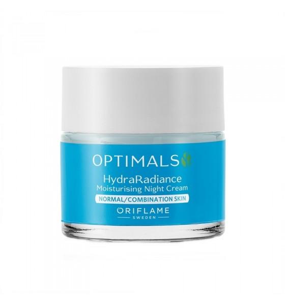 Θρεπτική Κρέμα Νύχτας για Κανονικές Επιδερμίδες Optimals Hydra Radiance